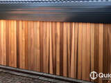 Tilt Door – Western Red Cedar Vertical