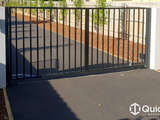 Gate – Bar Grill Swing Gate with Pedestrian Gate