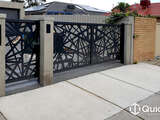 Gate –  Quicklift Frame and Hardware design, custom cladding by client