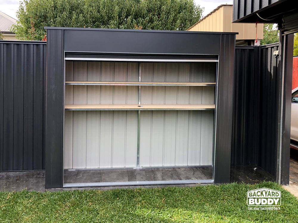 Backyard Buddy   Outdoor Storage Solution   Quicklift ...